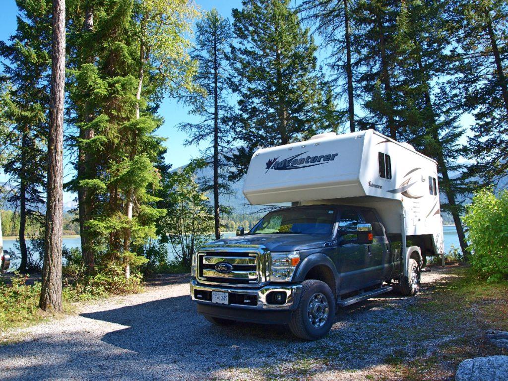 Truck Camper unsere Wahl für den Westen Kanadas