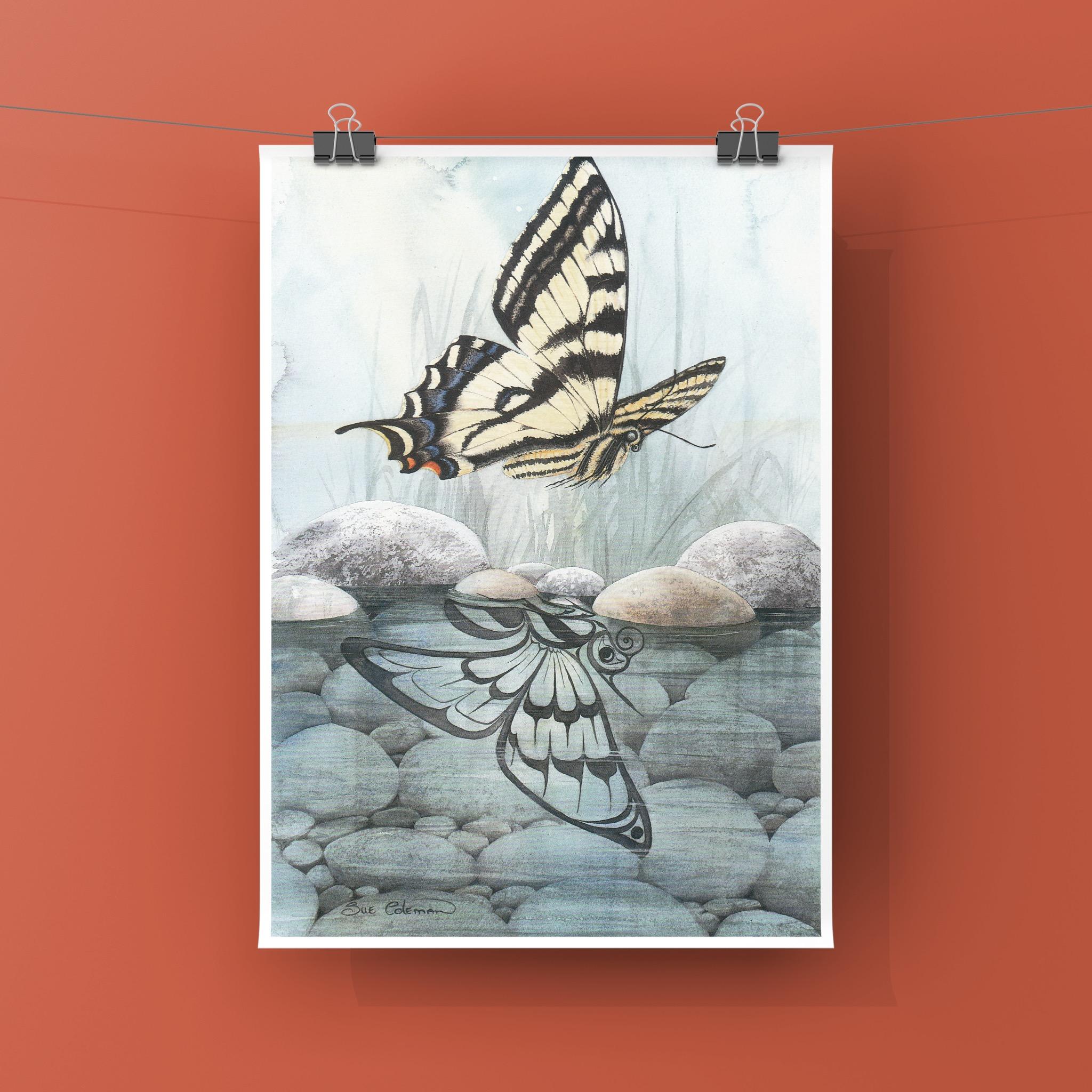Schmetterling: Veränderung, Verwandlungsfähigkeit und Anmut