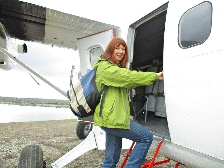 Unterwegs mit dem Wasserflugzeug, Bernadette A. Calonego
