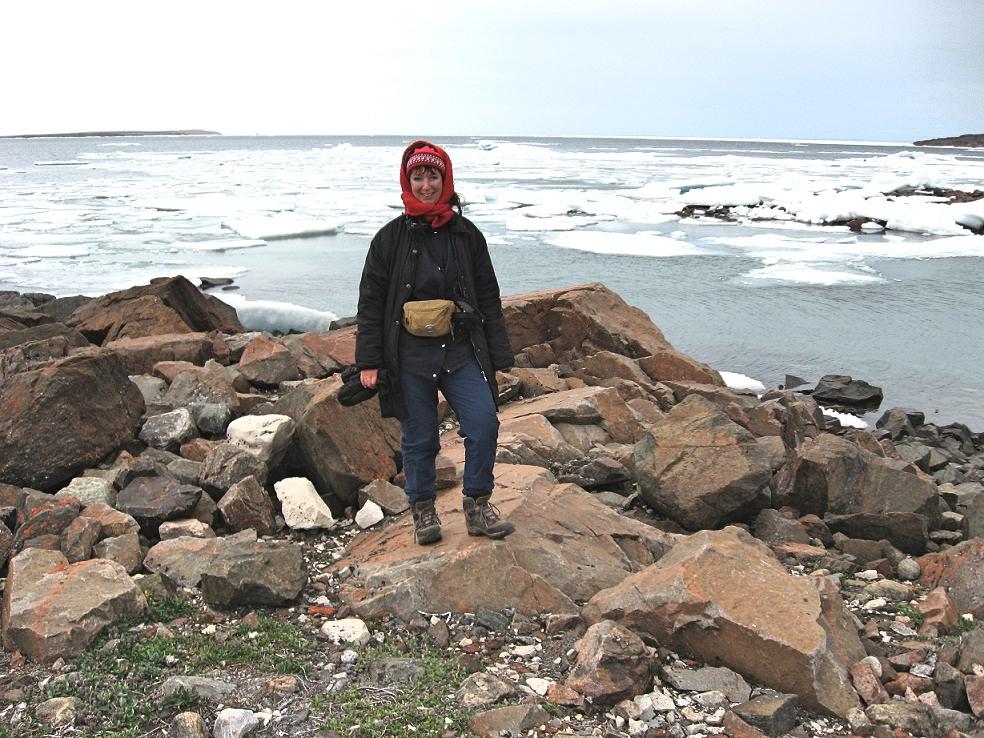 Besuch von Fort Ross in der Arktis, Bernadette A. Calonego