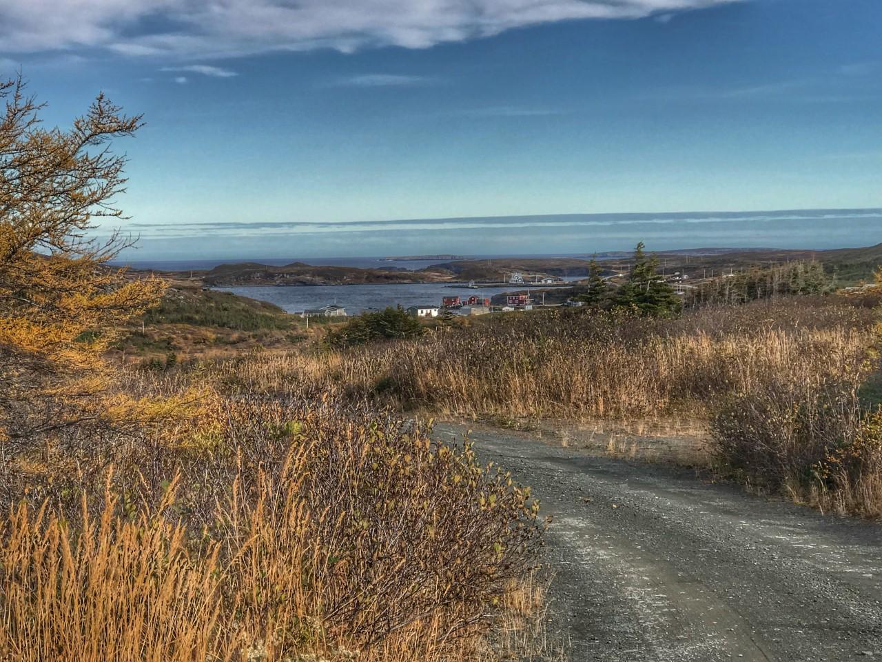 Wandern auf entlegenen Wegen in Neufundland.