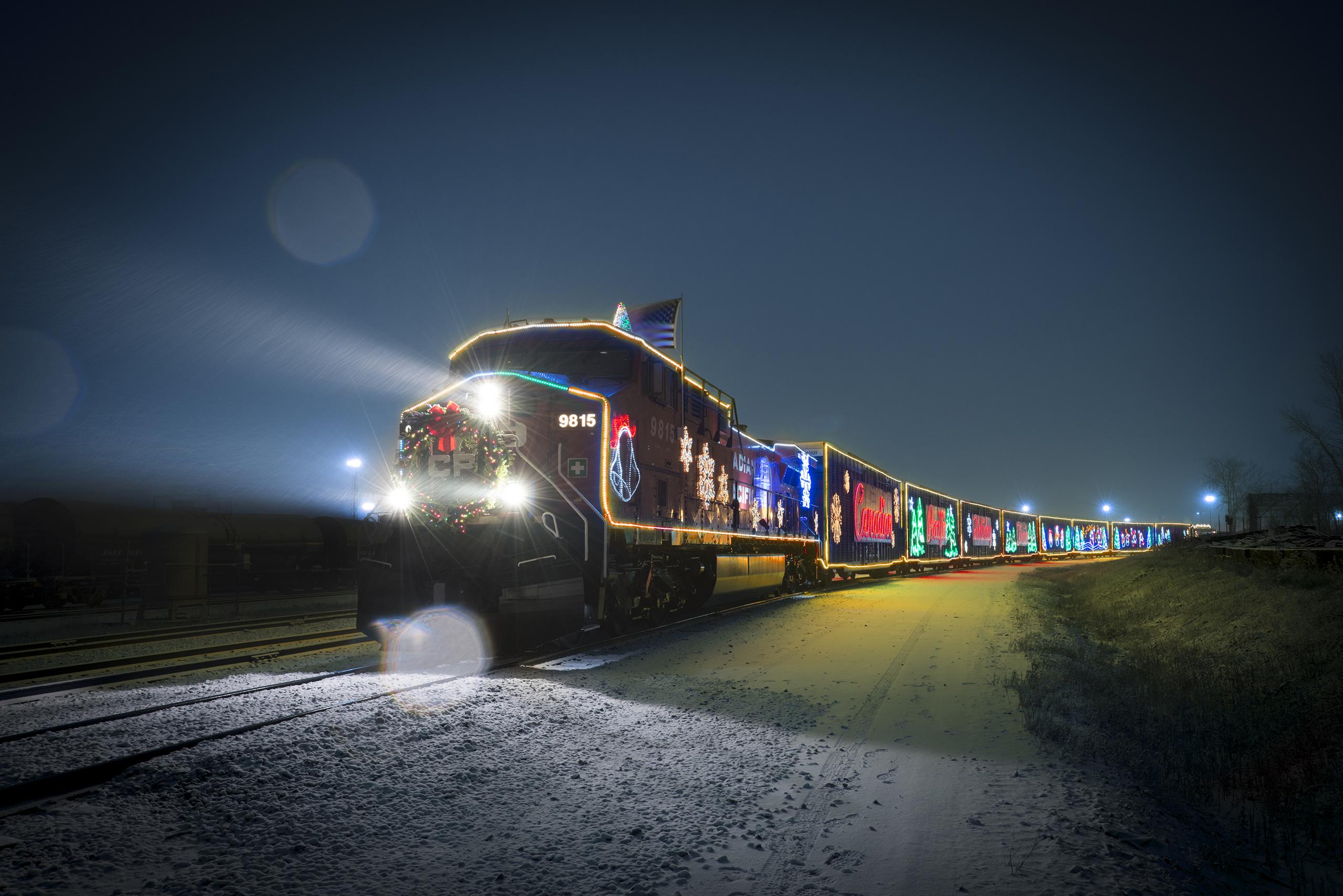 Holiday Train rollt wieder durch Kanada und USA!